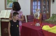 Al Fresco reportaje ' La Copa del Mundo y dos Eurocopas visitan Valdeganga'