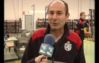Bomberos de Albacete y Cuenca han visitado esta mañana la factoría Ajusa