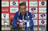 Declaraciones de los entrenadores del Melilla y del Albacete Balompié