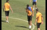 Entrenamiento del  Albacete