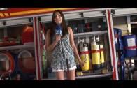 La Coctelera. Reportaje en el Parque de Bomberos y presentación del Toyota RAV4. Cotilleos en los In