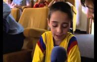 Payasos y músicos han animado a los niños en el Hospital General