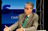Ramón Jáuregui visita los informativos de Visión6