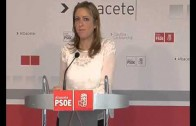 Rueda de prensa de Cristina Maestre