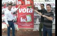 Rumbo a Europa con la pegada tradicional de carteles
