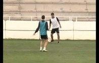 Israel Bascón ya entrena con sus compañeros