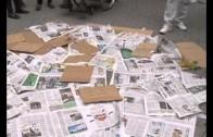 Cáritas celebra un flashmob por las personas sin hogar