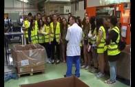 Alumnos del instituto Diego de Siloé visitan la factoria Ajusa
