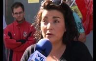 Jornada de huelga en la cadena textil 'Los Telares'