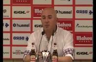 Luis César: «Hemos jugado una muy mala segunda parte»