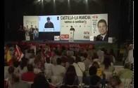 Multitudinario cierre de campaña del Partido Socialista en Albacete