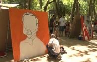 A Pie de Calle Exhibición de Grafitis Cruz Roja