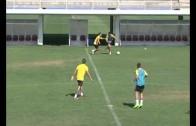El Alba vence en su primer amistoso 2-3
