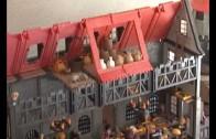 El Playmobil medieval aterriza en el Barrio Feria