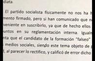 Según Belinchón, Ciudadanos falta a su principio de transparencia