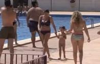 A falta de playa, buenas son las piscinas