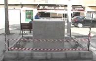 El monumento a Dámaso, listo para Feria