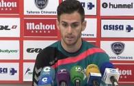 Rubén Cruz, listo para jugar ante Osasuna