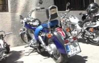 Concentración de Harley Davidson en Alcalá del Júcar