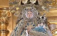 Hoy subida al camarín de la Virgen de los LLanos