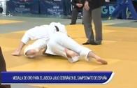 Medalla de oro para el judoca Julio Cebrian en el Campeonato de España