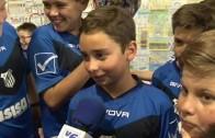 Clausura de los juegos deportivos con más de 7.000 niños
