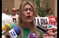 Stop desahucios se encierran en el ayuntamiento de Albacete