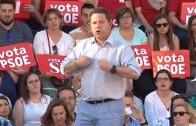 Últimos actos de campaña y ovación para García-Page