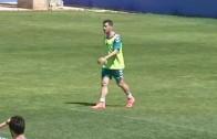Víctor Curto ya entrena con sus compañeros