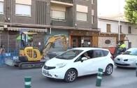 Obras «que hacen aguas» en la calle Segovia
