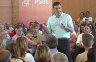 Parte del núcleo duro del PSOE, «festejando» en Hellín