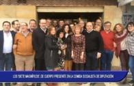 Los 'Siete Magníficos', de cuerpo presente en la comida socialista de la Diputación