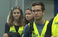 El I.E.S. Los Olmos visita la factoría AJUSA