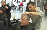 Gala de peluquería a beneficio de Cruz Roja, en el Auditorio Municipal