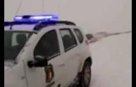 La nieve siembra el caos en la provincia