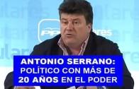 Antonio Serrano, capataz del cortijo del PP provincial