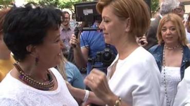 """Un PP """"unido"""" entre comillas en apoyo a Cospedal"""