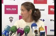 Andrea Ojeda presentada con el Fundación Albacete Nexus