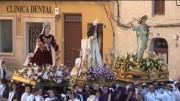 Procesión El Resucitado (Chinchilla), 16 de abril de 2017