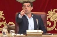 Enfado`monumental´ del alcalde en el Pleno