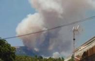 Nivel 2 en el incendio de Yeste, que podría ser provocado