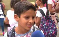 Albacete despedía ayer a sus niños Saharauis