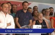 "El PSOE, ""de Guatemala a Guatepeor"""