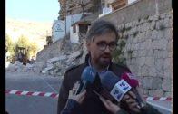 Nuevo desprendimiento de rocas en Alcalá del Júcar