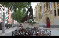 Homenaje de Vicente Sáez a los 100 años de La Chata