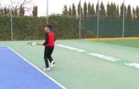 El trofeo de tenis de Navidad reúne a 170 participantes