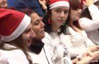 Fiesta navideña en el hospital Perpetuo Socorro