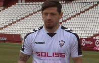 Javier Acuña, presentado de forma oficial con el Albacete