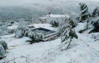 La nieve, protagonista en muchos puntos de la provincia