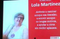 La UCLM rinde homenaje a la sindicalista Lola Martínez con un aula